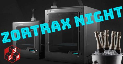 Se amate le stampanti 3D adorerete la Zortrax Night
