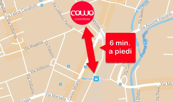 Coworking Monza: vicino alla stazione